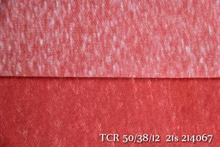 130gsm, 50%Polyester / 38%Cotton / 12%Rayon, Dyed, Weft knit