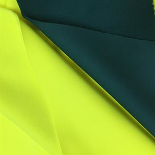 390 gsm, 100% Polyester, Interlock laminated fleece with PU membrane, Jacket