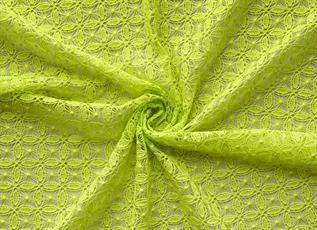 Lace Fabric:100-120 GSM, 100% Cotton, Dyed, Plain