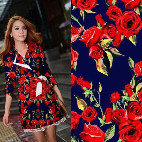 High Fashion Cotton Floral Print Fabric