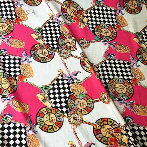 Printed Viscose Woven Fabric