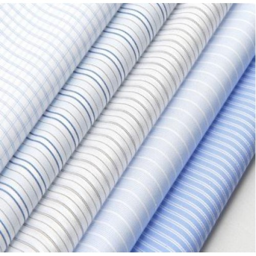Colored Shirting Fabric