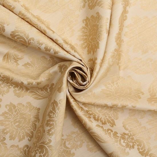Jaquared Silk Fabric.