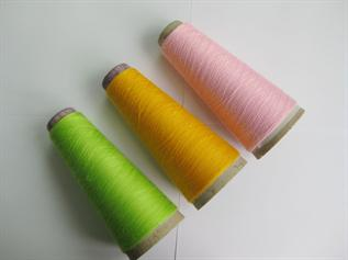 Polyester / Cotton Yarn:Dyed, For weaving , 50/50% 65/35%