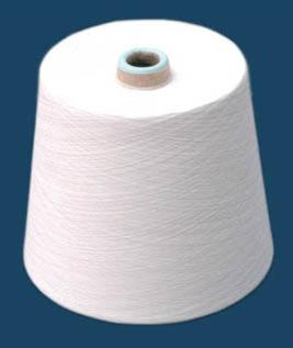 Polyester / Cotton Yarn:Greige, For Weaving and Knitting, 65% Polyester / 35% Cotton