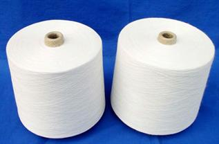 Polyester / Cotton Yarn:Greige, For Weaving and Knitting, 60% Polyester / 40% Cotton, 65% Polyester / 35% Cotton