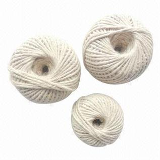Polyester / Cotton Yarn:Greige, For knitting, 65% Terry / 35% Cotton