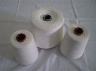Polyester Yarn:Dyed & Greige, For weaving and knitting fabrics, 100% Polyester Ring Spun