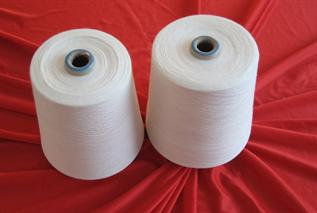 Polyester / Cotton Yarn:Greige, Hand Knitting, Knitting, Weaving, Braiding, Cordage, Webbing, Sewing., 20-60s, 65%Polyester / 35%Cotton