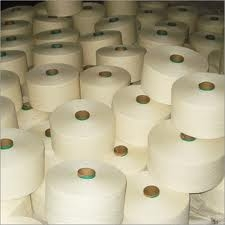 Polyester / Cotton Yarn:Raw white, Knitting & Weaving, 20, 24, 30, 36, 40, 65% Polyester / 35% Cotton
