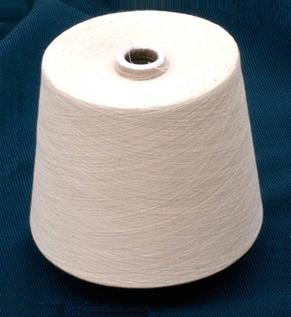 Polyester / Cotton Yarn:Greige, Knitting, Weaving, 30/1, 52/48%