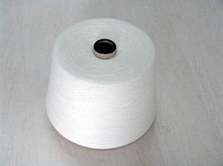 Polyester / Cotton Yarn:Greige, For Weaving, 60% Polyester / 40% Cotton