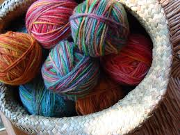 Greige and Dyed, For Knitting, Wool