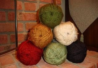 Acrylic Yarn:Dyed, Knitting, 100% Acrylic