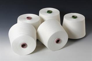 Polyester / Cotton Yarn:Greige, For making gloves, 5, 8, 10, 80%Cotton/20%Polyester