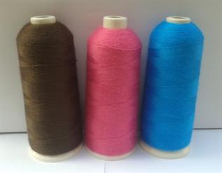 Dyed, For embroidery, 120/2, 150/2, 300/1, 600/1, 100% Viscose / 100% Rayon
