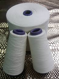 Polyester / Cotton Yarn:Greige, For weaving and knitting, 20 to 45, 65% Polyester / 35% Cotton open end, carded, comded