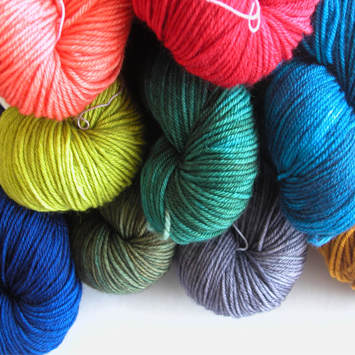 polyester mother yarn