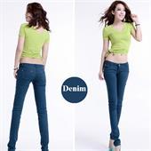 Women 100% Cotton Jeans