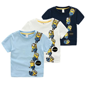 Kids 100% Cotton Knitted T-Shirts