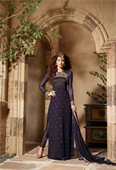 Semi-Stitched Salwar Suit