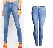 ladies cotton denim jeans