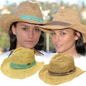 Ladies Raffia Hats