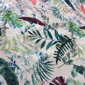 polyester printed woven fabric