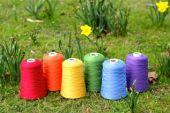 Raw White / Dyed, For knitting, weaving, carpet making etc…, Nm 1/14, 2/14, 1/28, 2/28, 1/34, 2/34, 80% Polyester / 20% Acrylic