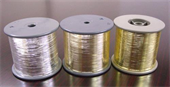 M-type Unsupported Pure Silver Metallic Yarn
