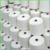 Knitted Cotton Nylon Yarn