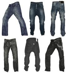 """Jeans:95% Cotton / 5% Spandex,  36"""" to 40"""""""