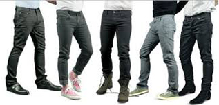 Jeans:100% Cotton, 36-40 inches