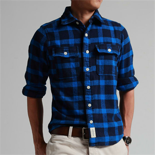 Shirt:100% Cotton, Polyester / Cotton, S to L