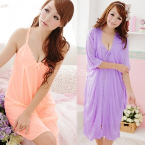 Night dresses (Sleep wear):AnnaMu Lingerie