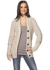 Cardigans:100% Cotton Single Jersey, Cotton/Wool (80/20, 70/30), S - XXL