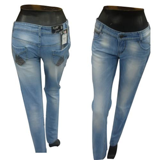 Jeans:Cotton, Hoisery, S-2XL