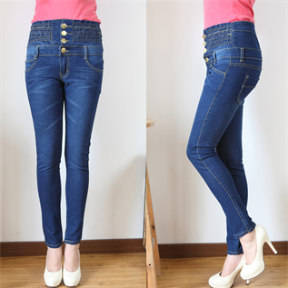 Jeans:95% Cotton / 5% Lycra ,  XS to XL