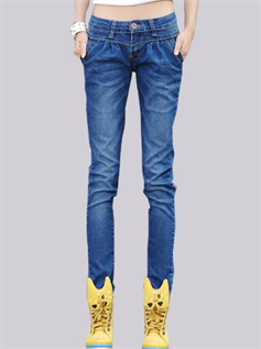 Jeans:95% Cotton / 5% Lycra, S to XL