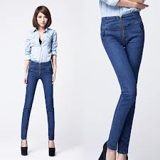 Jeans:Denim Cotton, 28 - 38