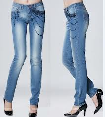 Jeans:93% Cotton / 7% Spandex , S to XXL