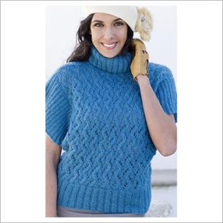 Sweater:100% Acrylic, 50% Cotton / 50 Acrylic, S to XL