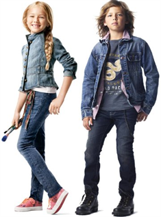 Jeans:93% Cotton / 7% Spandex, Age group : 4 to 14 years
