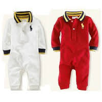 Rompers:Cotton, PC, Polyester, 0-6 years