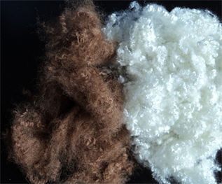 Polyester Staple Fibre (PSF):Raw white, Dyed, Staple, 1-10 , For spinning