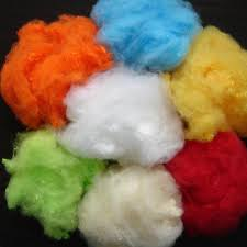 Polyester Staple Fibre (PSF):Dyed, Filament, 10DTX, For manufacturing pillow