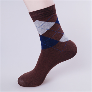 Socks:100% Cotton, 95% Cotton / 5% Spandex, White / Black / Brown / Navy blue
