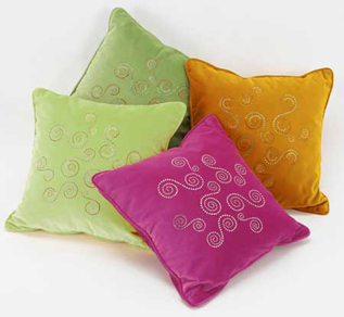 Cushions:100% Cotton, Woven, -