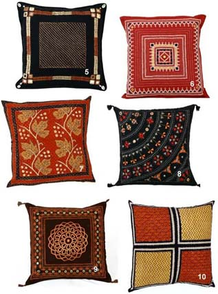 Cushions:100% Cotton with unique design and pattern, Woven, Quick-Dry