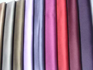 90 – 160 gsm, 40% Polyester / 60% Cotton , Dyed, Warp Knit, Weft Knit